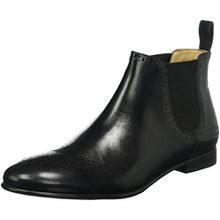 Melvin & Hamilton Damen Sally 16 Chelsea Boots, Schwarz (Salerno Black/Ela.Black/Hrs), 42 EU