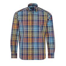 ETERNA Hemd blau / mischfarben