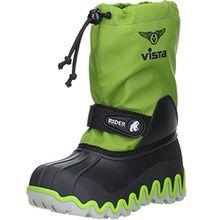 Vista Canada Polar Kinder Jungen Mädchen Winterstiefel Snowboots Grün, Größe:37/38, Farbe:Grün