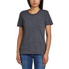 Anvil Damen T-Shirt/880, Einfarbig, Gr. 46 (Herstellergröße: XXL), Grau (HDG-Heather Dark Grey 334)