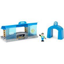 BRIO World - 33918 Smart Tech Eisenbahn-Werkstatt