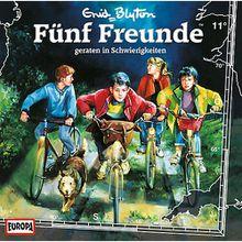 CD Fünf Freunde 011/geraten in Schwierigkeiten Hörbuch