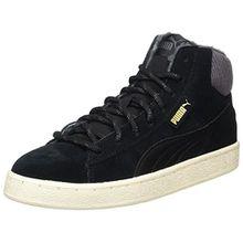 Puma Unisex-Erwachsene 1948 Mid Corduroy Hohe Sneaker, Schwarz (Black-Black), 45 EU