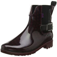 TOM TAILOR Damen 1692301 Chelsea Boots, Rot (Bordo), 40 EU
