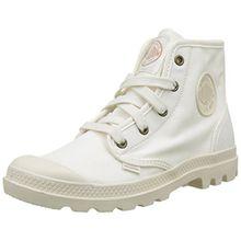 Palladium Damen Pampa Hi Hohe Sneakers, Weiß (Marshmallow/Marshmallow), 37.5 EU