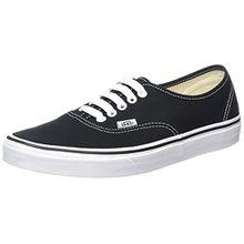 Vans AUTHENTIC VEE3 Unisex-Erwachsene Sneakers, schwarz/weiß, EU 40,5