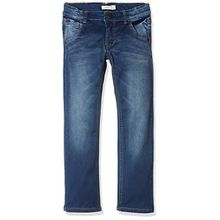 NAME IT Jungen Jeans Nkmryan Dnmtaz 3004 Pant Noos, Grau (Dark Blue Denim), 128