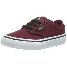 Vans Y Atwood Unisex-Kinder Sneakers, Rot ((Canvas) oxbloo/DDU), 27 EU (10 Kinder UK)