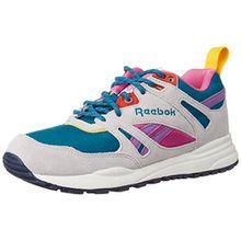 Reebok Ventilator so, Damen Sneakers, Weiß (Englsh Emerald/Steel/Pink/Amber/Navy/Chalk/Purple), 39 EU (6 Damen UK)