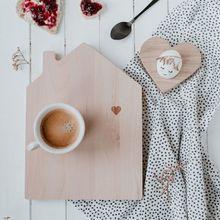 Frühstücksset Haus mit Herz