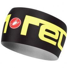 Castelli - Viva 2 Thermo Headband - Stirnband Gr One Size schwarz/grau;schwarz/gelb/grau