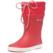 Aigle Unisex-Kinder Giboulée Gummistiefel Rot (rouge/blanc 8) 29 EU