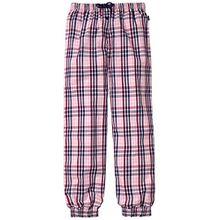Schiesser Mädchen Schlafanzughose Mix & Relax Web Pants, Gr. 140, Rot (rosa 503)