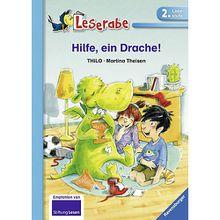 Buch - Leserabe: Hilfe, ein Drache!, 2. Lesestufe