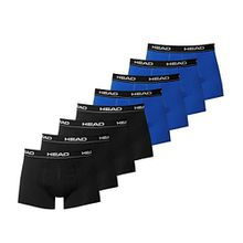 HEAD Men Boxershort 841001001 Basic Boxer 8er Pack 4x black 4x blue/black, S