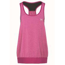 TAO Sportswear Atmungsaktives Damen Funktions Oberteil ohne Arm TANK TOP Funktionsshirts pink Damen