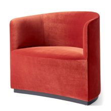 Menu - Tearoom Club Chair, Samt rot (City Velvet CA7832/062)