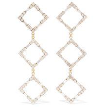 Rosantica - Luci Goldfarbene Ohrringe Mit Kristallen - one size
