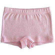 HERMKO 26710 Mädchen Panty in Ringeloptik made in EU, Größe:140, Farbe:Rosa Ringel
