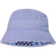 Wende-Hut  blau Jungen Kleinkinder