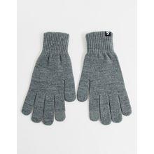 Jack & Jones – Touchscreen-Handschuhe in Grau