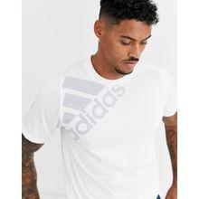 adidas - Performance - Weißes T-Shirt mit Logo - Weiß