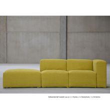 Donna Sofa System Hocker gelbgrün