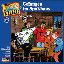 CD TKKG 155 (Gefangen im Spukhaus) Hörbuch