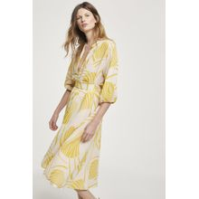 CLOSED Palm Leaves Skirt apricot