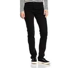 Brax Damen Slim Jeanshose 70-3000, MARY, Schwarz (CLEAN BLACK BLACK 2), W34/L32 (Herstellergröße: 44)