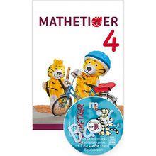 Mathetiger, Neubearbeitung 2016: 4. Schuljahr, Schülerbuch, m. CD-ROM