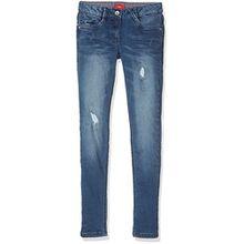 s.Oliver Mädchen Jeans 76.899.71.3307, Blau (Blue Denim Stretch 56Z2), 176 (Herstellergröße: 176/REG)
