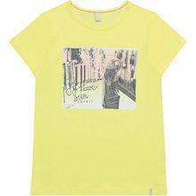 T-Shirt  gelb Mädchen Kinder