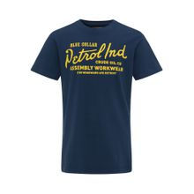 Petrol Industries T-Shirt blau