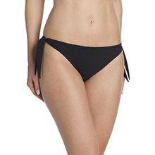 Rosa Faia Damen Slip Bikinihose Myra, Gr. 44, Schwarz (schwarz 001)
