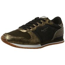 Pepe Jeans London Damen Gable Top Sneaker, Gold (Mixing), 40 EU