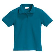 "HAKRO Damen Polo-Shirt ""Top"" 224 - petrol - Größe: L"