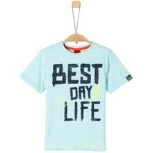 s.Oliver T-SHIRT - Best day of my life