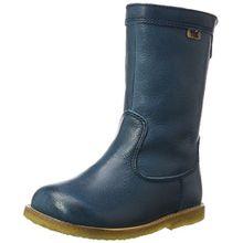 Bisgaard Unisex-Kinder Stiefel, Grün (1003-1 Petrolio), 27 EU
