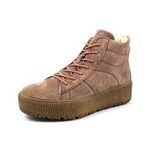 Tamaris Damen Plateau High-Top Sneakers Gefüttert Rosa, Schuhgröße:EUR 38