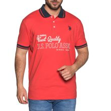 U.S. Polo Assn. Poloshirt in rot für Herren