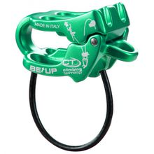 Climbing Technology - Be-Up Belay - Sicherungsgerät blau