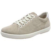 Legero Damen Trapani Sneaker, Beige (Ghiaccio), 40 EU