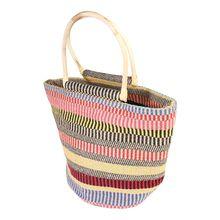PIECES Strandtasche Strandtaschen mehrfarbig Damen