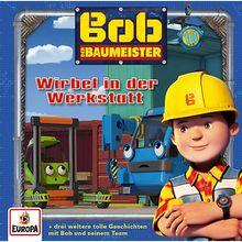 CD Bob der Baumeister 18 - Wirbel in der Werkstatt Hörbuch