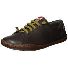 CAMPER Peu Cami, Unisex-Kinder Sneakers, Braun (Dark Brown), 33 EU