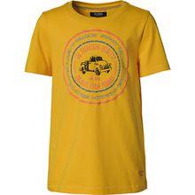 T-Shirt , Organic Cotton gelb Jungen Kinder