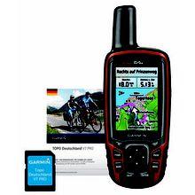 GPS Gerät/Radcomputer GPSMap 64s+ Topo Deutschland V7