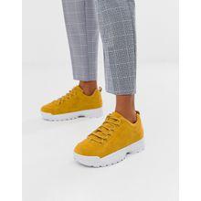 Truffle Collection - Klobige Sneaker - Gelb