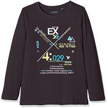 Blue Seven Jungen T-Shirt 850550 X, Grau (Anthrazit ORIG 991), 122
